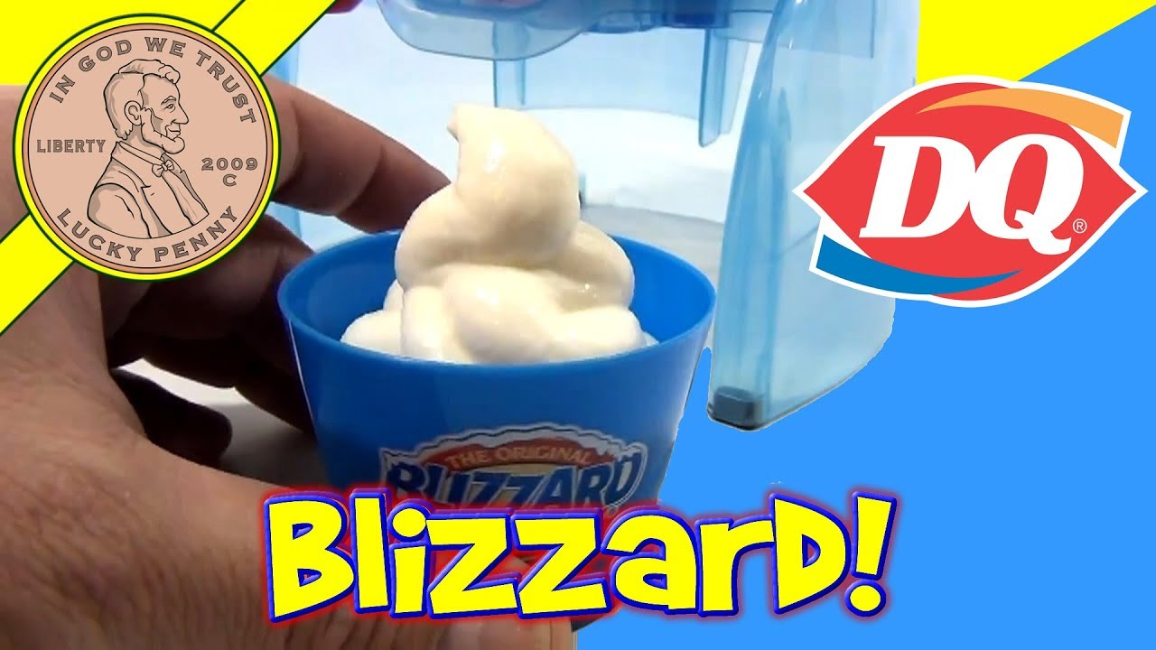 Dairy Queen Blizzard Maker Instruction Manual