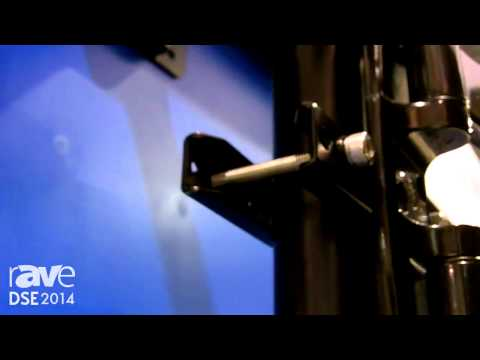 DSE 2014: Crimson AV Talks About Its Clamp 3 Display Mount with Infinite Display Height Adjustment