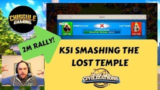 K51 SMASHING the Lost Temple | Rise of Civilizations