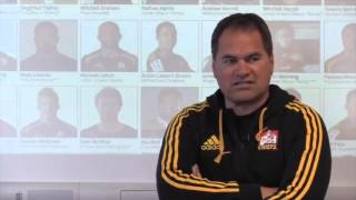 Chiefs coach Dave Rennie explains his 2016 Super Rugby squad | Rugby Video Highlights