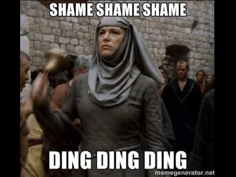 DING DING DING SHAME SHAME