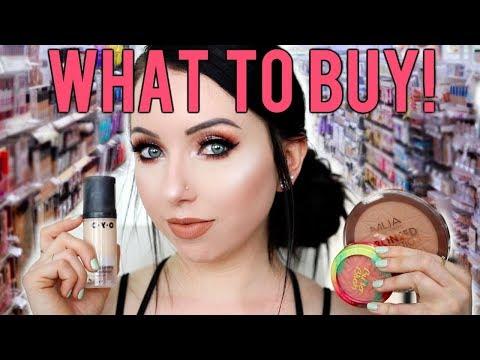 DRUGSTORE MAKEUP STARTER KIT 2018! What To Buy in the Drugstore
