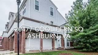 20477 Cool Fern Sq Ashburn For Sale