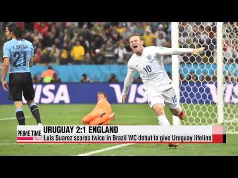 World Cup: Uruguay vs. England
