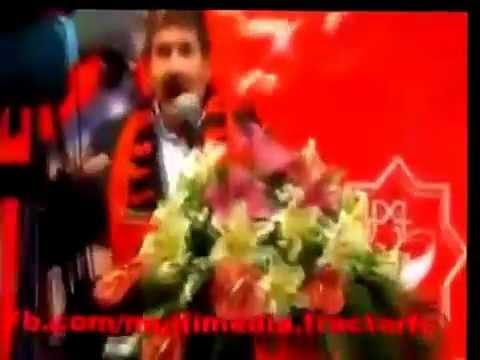 Apresentação do ex treinador do Benfica Toni, no Traktor do Irão.