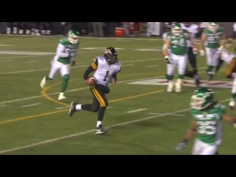 Henry Burris Grey Cup touchdown run - November 24, 2013