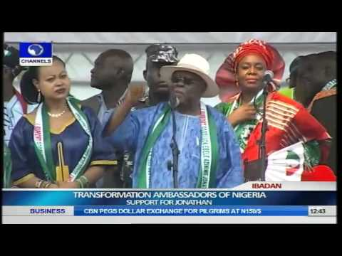 Transformation Ambassadors Of Nigeria (TAN) Brings Rally For Jonathan To Ibadan Pt.3