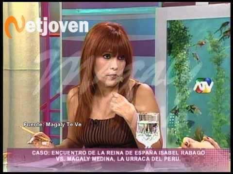 Magaly Medina al fin cara a cara con Isabel Rábago