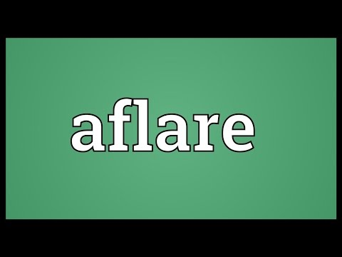 Header of Aflare
