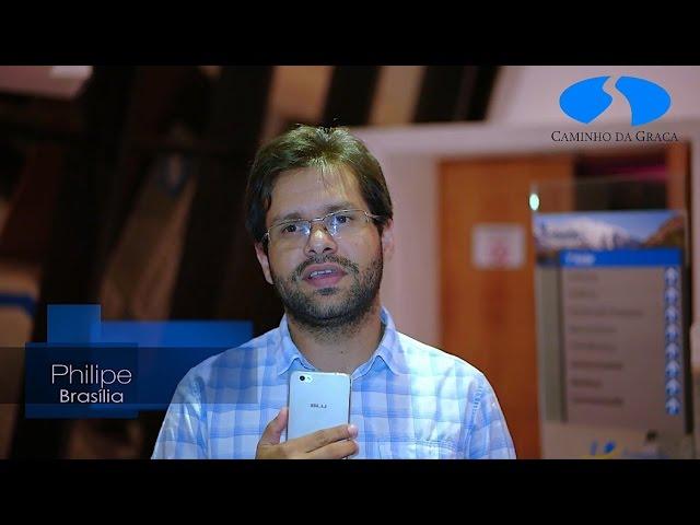 Boletim: Encontros com Caio Fábio em Brasília. Domingos, às 19h. Depoimento do Philipe!