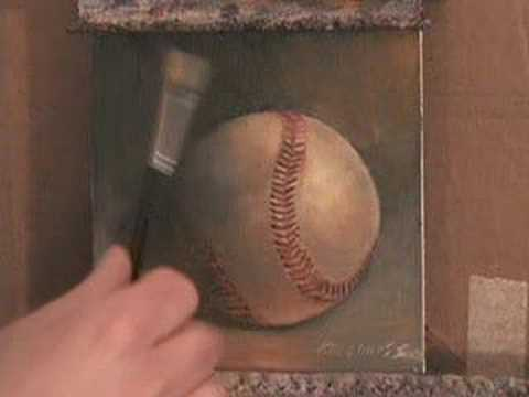AMERICAN ARTIST, HALL GROAT II, DISCUSSES HIS PAINTING OF A BASEBALL THAT IS HOMAGE TO BASEBALL LEGEND, DICK GROAT.