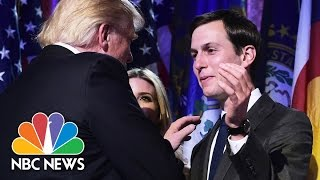 Jared Kushner Among People Being Interviewed In Senate's Trump-Russia Probe | NBC News