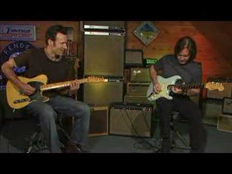 Dave Hunter&Carl Verheyen -- Fender Guitar Blues Jam