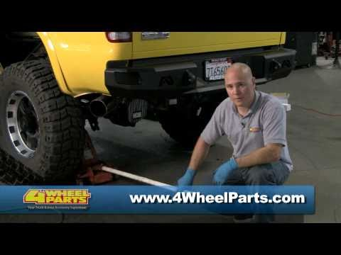How to Install Power Slot Brake Rotors & Brake Pads on a Ford F-250