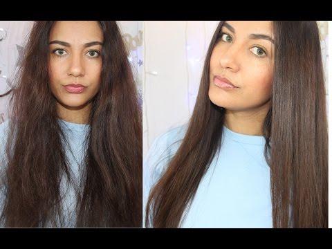 Les cheveux commencent à grandir dans la transplantation des cheveu