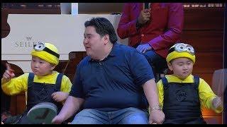 Tes Kekompakan Tiga Anak Kembar | HITAM PUTIH  (04/10/18) 3-4
