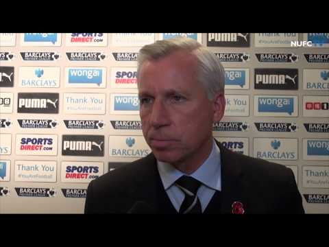 Alan Pardew and Mehdi Abeid on Liverpool win