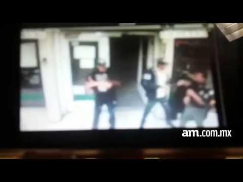 Captan en video asalto a casa de empeño en Irapuato