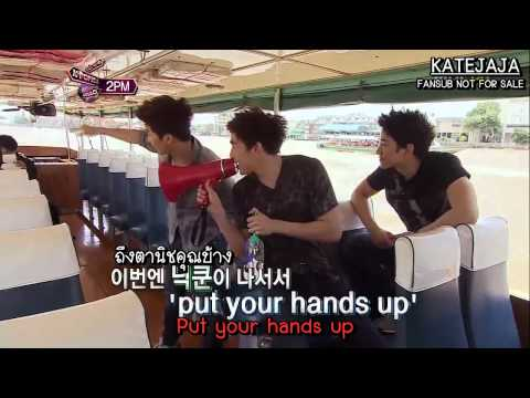 [Thai sub] 111110 2PM - Cover Dance Festival! K-POP Roadshow 1/4