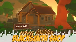 MY LITTLE BLACKSMITH SHOP (Gameplay/Let's Play)