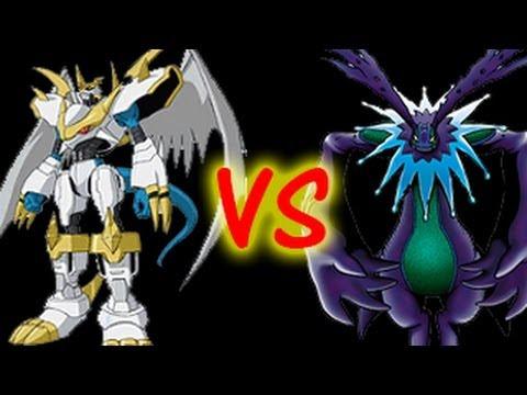 Digimon Masters Online - Imperialdramon Paladin Mode Vs. Cherubimon - YouTube