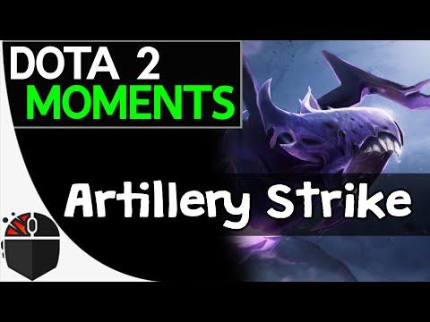 Dota 2 Moments  Artillery Strike