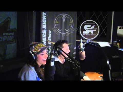 Raffaella Fico ospite nel Crazy Talent Show con Daniel Costa