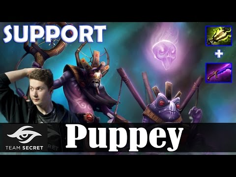 Puppey - Witch Doctor Roaming | SUPPORT | Dota 2 Pro MMR  Gameplay