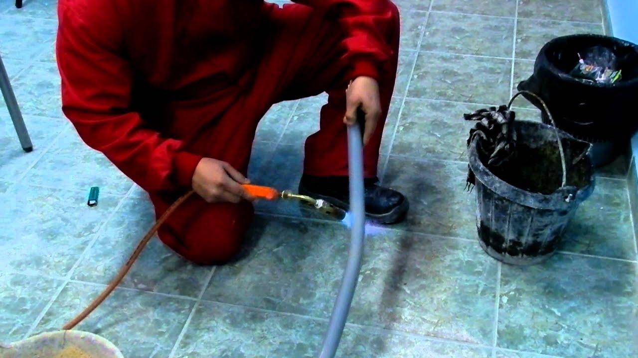 Curvado tubos de pvc youtube - Tubos desague pvc ...