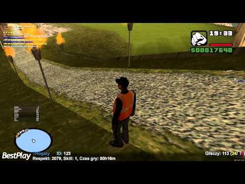 Wojna Gang ów w Zagrajmy w Multi Theft Auto - MTA : San Andreas - # 07