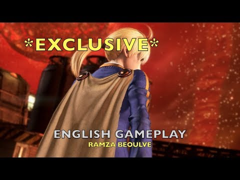 *Exclusive* Ramza English Gameplay 1080p60 - Dissidia Final Fantasy NT