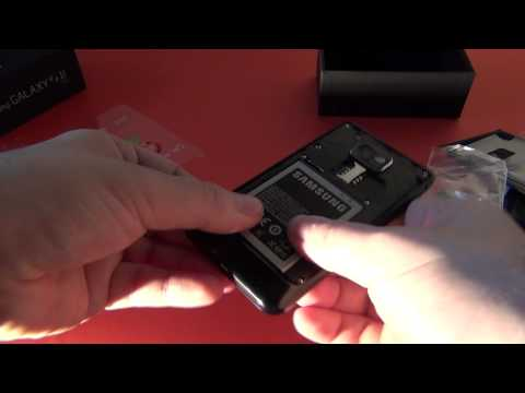 Samsung Galaxy S II Unboxing - scos din cutie la Mobilissimo.ro