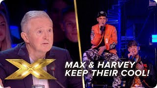 Max and Harvey keep their cool with a Jonas Brothers cover | Live Week 2 | X Factor: Celebrity