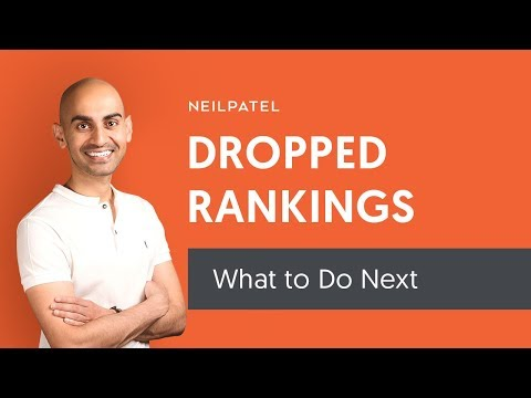 3 Things to Do If Your Google Rankings Drop (Don't Wait! Use These SEO Strategies Immediately!)