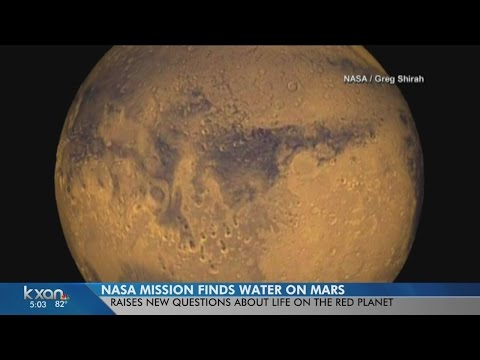 NASA mission finds water on Mars
