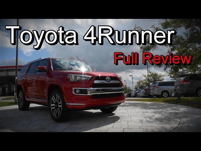 2016 Toyota 4Runner Limited, Trail & SR5: Full Review