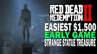 Easiest 1500 In The Game Strange Statue Gold Treas