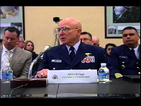 Hearing: U.S. Coast Guard FY 2015 Budget (EventID=101864)