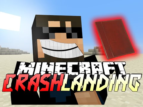 Minecraft Crash Landing - QUESTS FOR DAYS!