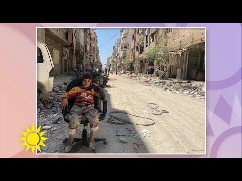 """Kemgasattacken i Syrien: """"Svårt att föreställa sig hur illa det är"""" - Nyhetsmorgon (TV4)"""
