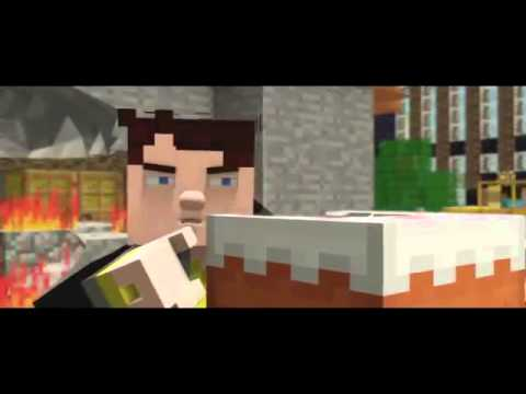 ♫ Griefer ♫ -  A Minecraft Parody of Robbie Williams - Candy (Music Video)