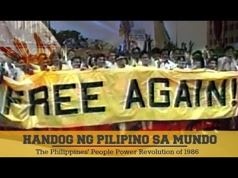Handog ng Pilipino sa Mundo | Ang Awit ng People Power.