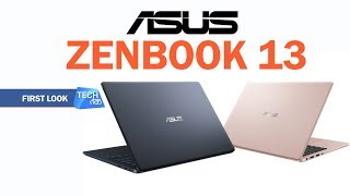Asus ZenBook 13: First Look | Tech Tak