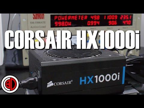Corsair HX1000i PSU Review HXi 1000w