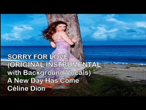 Celine Dion - Sorry For Love