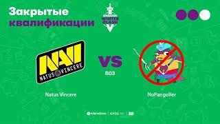 Natus Vincere vs NoPangolier, MegaFon Winter Clash, bo3, game 3 [CrystalMay & Inmate]