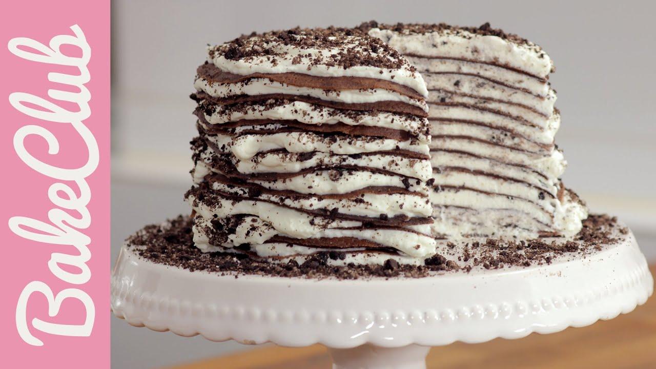 Торт из шоколадных блинчиков в домашних условиях