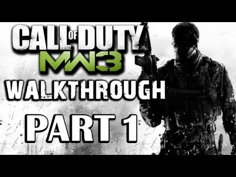 Call of Duty: Modern Warfare 3 Walkthrough Part 1 - Black Tuesday