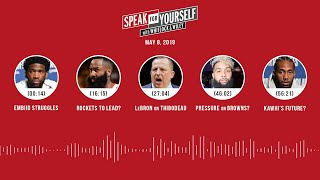 SPEAK FOR YOURSELF Audio Podcast (5.8.19) with Marcellus Wiley, Jason Whitlock | SPEAK FOR YOURSELF