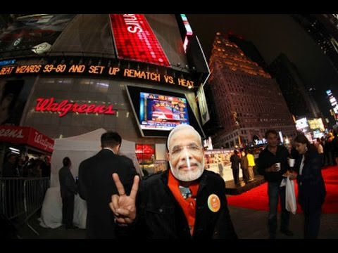 Countdown to Narendra Modi's Madison speech